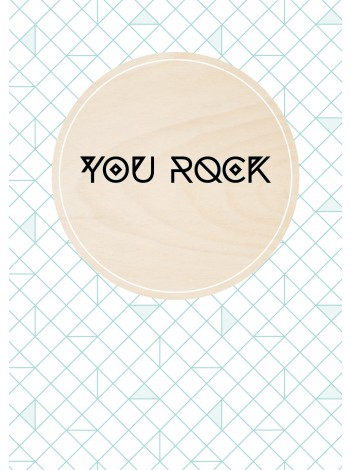 YESIWOOD 'You Rock'