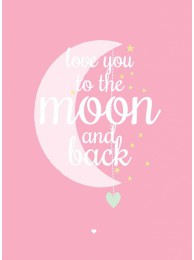 Poster A3 'Moon Pink'