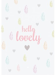 Ansichtkaart  'Hello Lovely'