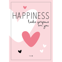 Poster 'Happiness looks ...'