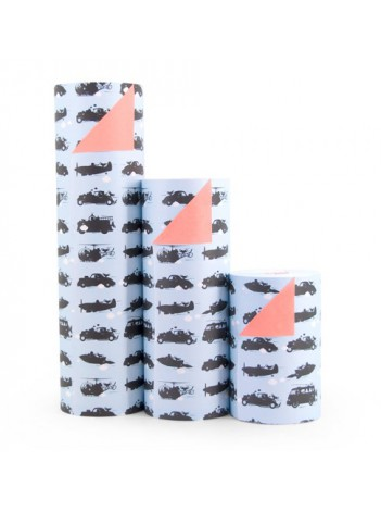 Cadeaupapier 'Toys For Boys'