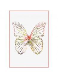 Sparkling Poster 'Butterfly'