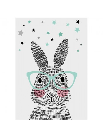 Sparkling Poster 'Mr. Rabbit'